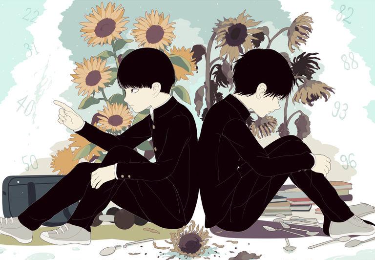 Drawings of Siblings  - An Inseperable Bond.